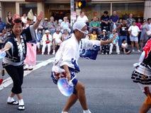 Japanese festival dancer in LA Stock Images