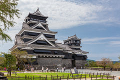 Japanese feudal castle Royalty Free Stock Photos
