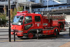 Japanese Fire Truck Stock Image