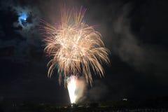 Japanese fireworks summer festival Kanazawa Japan Stock Image