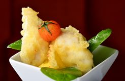 Japanese fish Tempura Stock Photography