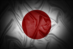 Japanese flag Royalty Free Stock Images