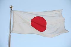 Japanese flag Stock Photos