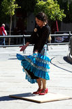 Japanese flamenco dancer 16 Royalty Free Stock Photos