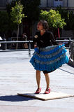 Japanese flamenco dancer 20 Royalty Free Stock Images