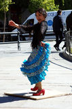 Japanese flamenco dancer 22 Stock Image