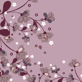 Japanese Floral Pattern Stock Photos