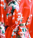 Japanese Floral Pattern Stock Image