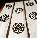 Japanese Flower Banners Royalty Free Stock Images