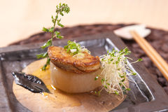 Japanese foie gras stock photos