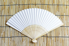 Japanese folding fan. Stock Image