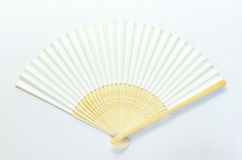Japanese folding fan Royalty Free Stock Images