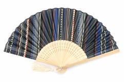 Japanese folding fan Royalty Free Stock Image