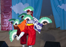 Japanese Folk Dance Institute at Brooklyn Botanic Garden Stock Image