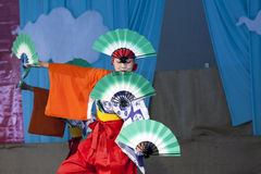 Japanese Folk Dance Institute at Brooklyn Botanic Garden Stock Photography