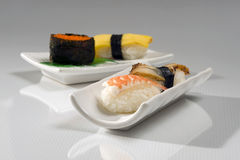 Japanese Food. With raw sushi Stock Photography