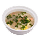 Japanese food. Japanise seafood soup with crab Royalty Free Stock Photo
