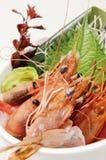 Japanese food. Japanese sashimi food on dish Stock Images
