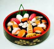 Japanese maki food bento isolated  Stock Image