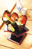 Japanese food california roll Royalty Free Stock Photos