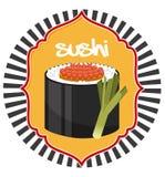 Japanese food. Design, vector illustration eps10 graphic Stock Image