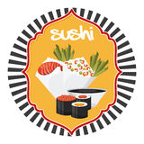 Japanese food. Design, vector illustration eps10 graphic Stock Photo
