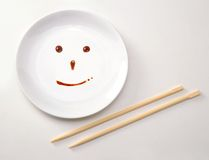 Japanese food dish concept. Royalty Free Stock Photo