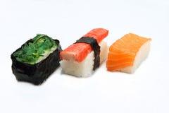 Japanese food eel. (unagi) sushi with white background Stock Photo