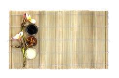Japanese food empty dish Royalty Free Stock Image