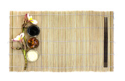 Japanese food empty dish Stock Images