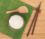 Japanese food ingredients and utensils Stock Photos