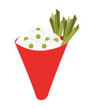 Japanese food  isolated icon design. Illustration  graphic Royalty Free Stock Photography
