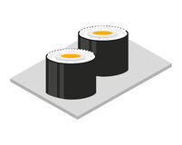 Japanese food  isolated icon design. Illustration  graphic Royalty Free Stock Images