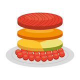 Japanese food  isolated icon design. Illustration  graphic Stock Photos