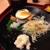 Japanese food in Japan royalty free stock photo