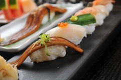Eel Sushi Stock Photography