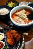 Japanese food meal Royalty Free Stock Image