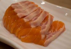 Japanese food mix sushi Stock Photos