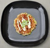 Japanese Food Okonomiyaki Royalty Free Stock Photos