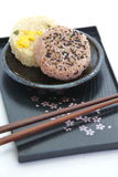 Japanese Food Onigiri Rice Ball Stock Images