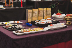 Japanese food at Orient Festival in Milan, Italy Stock Images