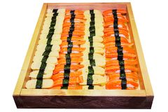 Japanese food palatable. Including sushi, Japanese food palatable stock photography