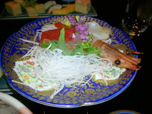 Japanese food. At restaurant in Japan Royalty Free Stock Photography