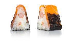 Japanese food, rolls stock photos