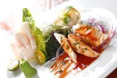 Japanese food, Sashimi Stock Image