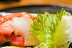 Japanese food , sashimi. Japanese cuisine royalty free stock images