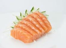 Japanese food. Sashimi of salmon and japanese food Stock Photos