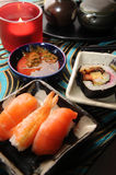 Japanese Food. Serve on table royalty free stock images