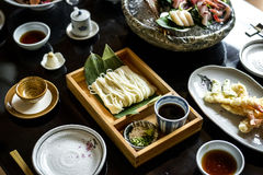 Free Japanese Food Set On The Table Stock Image - 99198611