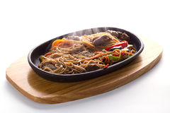 Japanese food: Soba noodles Royalty Free Stock Photo